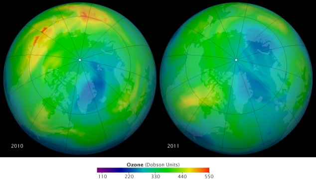 '2011 Arctic Ozone Loss' by NASA Goddard Space Flight Center on Flickr