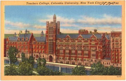 'Teachers College, Columbia University, New York City' by the Boston Public LIbrary on Flickr