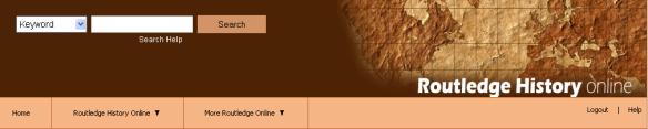 History Online banner