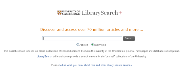 LibrarySearch+