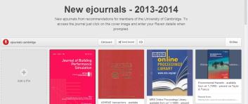 ejournals pinterest board