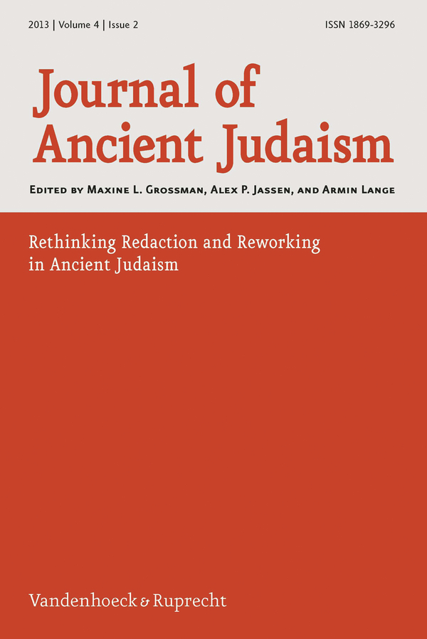 Judaism research paper