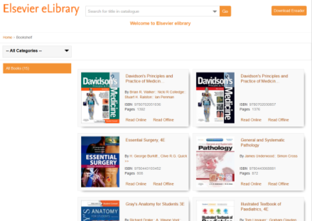 eElsevier elibrary
